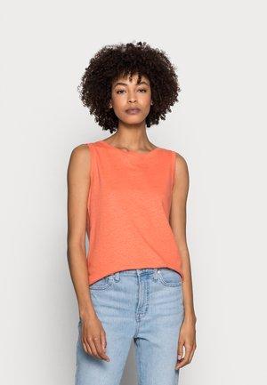 Top - coral orange