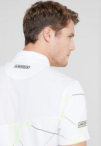 Lacoste Sport - TENNIS GRAPHIC - Piké - white - 3