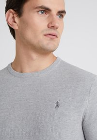 Polo Ralph Lauren - LONG SLEEVE - Neule - andover heather - 4