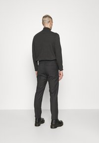 Calvin Klein Tailored - TWILL STRUCTURE PANT - Trousers - dark grey heather - 2
