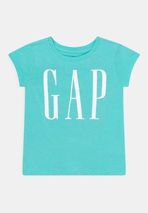 GIRLS ARCH LOGO - T-shirt z nadrukiem - aqua glaze