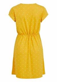 Vila - VIMOONEY STRING - Jersey dress - yolk yellow - 6
