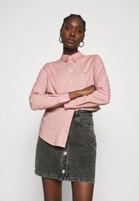Calvin Klein - SLIM - Košile - muted pink - 0