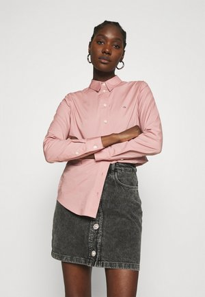 SLIM - Button-down blouse - muted pink