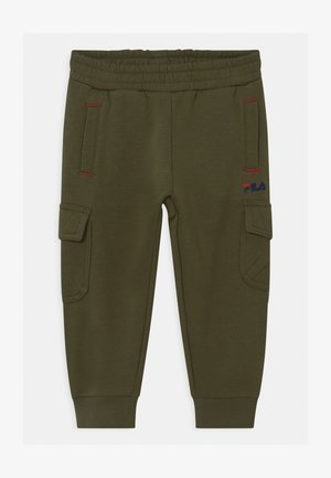 DAVIDE  - Cargo trousers - grape leaf