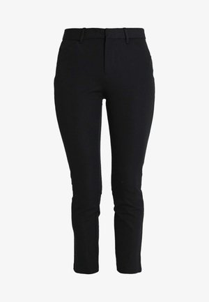 ANKLE BISTRETCH - Pantalones - true black
