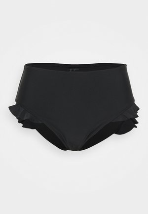 MIX AND MATCH HIGH WAIST BOTTOM - Bikiniunderdel - black