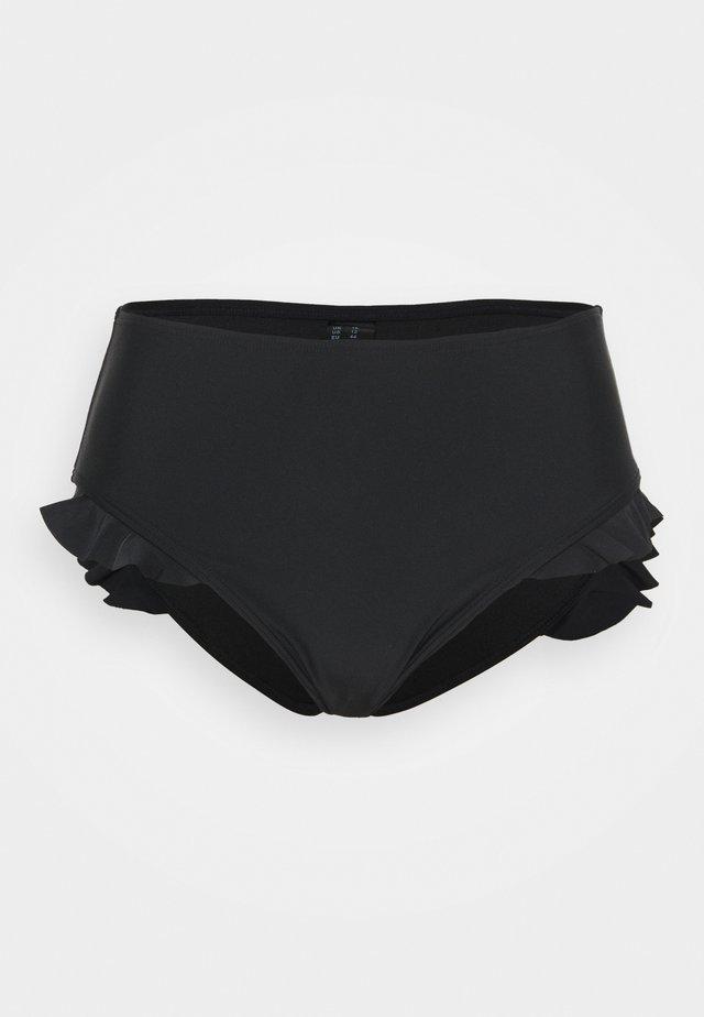 MIX AND MATCH HIGH WAIST BOTTOM - Bikiniunderdel - black