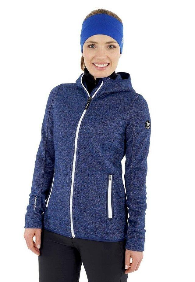 veste en sweat zippée - dk.blau