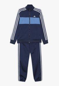 adidas Performance - TIBERIO SET - Survêtement - blue/light blue/white - 0