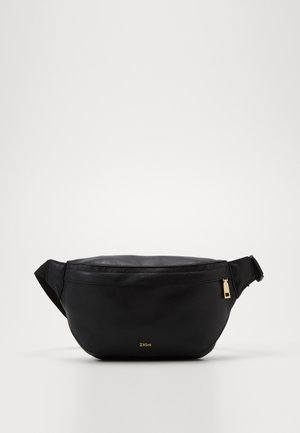 UNISEX LEATHER - Bum bag - black