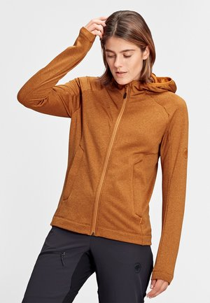 NAIR  - Fleece jacket - tumeric melange
