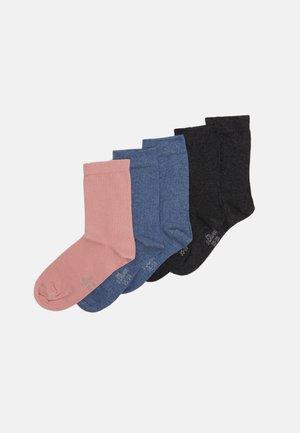 ONLINE WOMEN ORIGINAL SOCKS  5 PACK - Socks - rose/blue/black