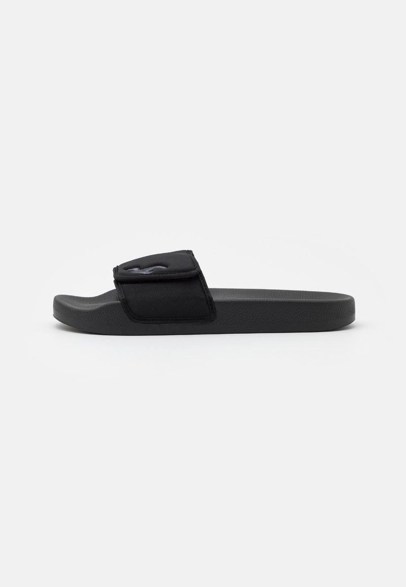Hollister Co. - ADJUSTABLE SLIDES - Pantofle - black