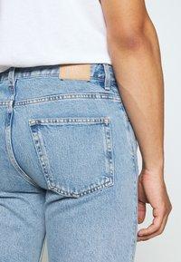 Weekday - SUNDAY  - Jeans Short / cowboy shorts - pen blue - 7