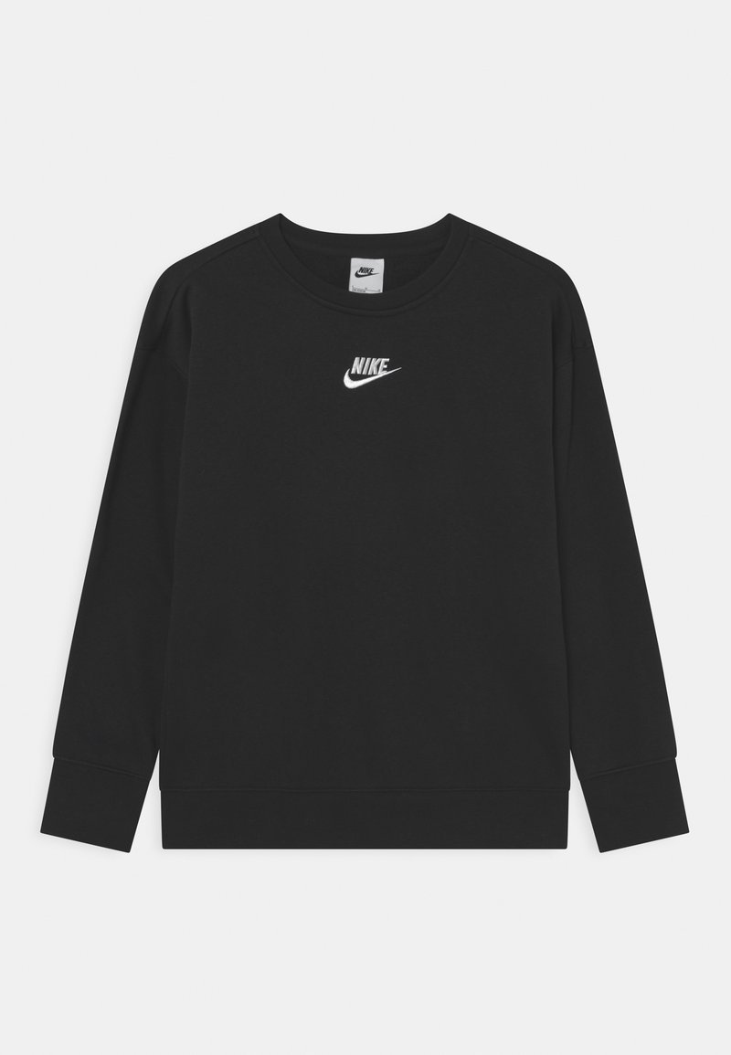 Nike Sportswear - CLUB CREW - Sweatshirt - black/white