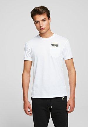 IKONIK  - T-shirt imprimé - white