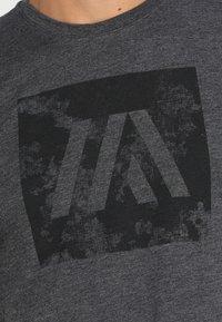 Your Turn Active - T-shirts print - dark grey melange - 5