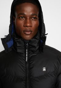 G-Star - WHISTLER PUFFER - Winter jacket - dark black - 4