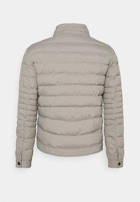 Antony Morato - SLIM FIT IN TECHNO FABRIC WAXY TOUCH - Light jacket - light grey - 1