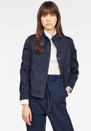 SLIM - Denim jacket - sartho blue