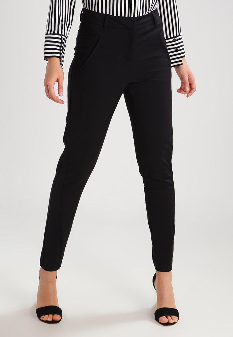Vero Moda - VMVICTORIA - Spodnie materiałowe - black