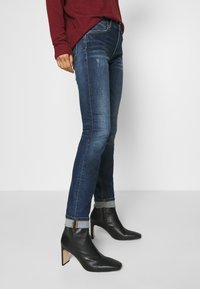 Marc O'Polo DENIM - ALVA - Jeans Skinny Fit - dark-blue denim - 3
