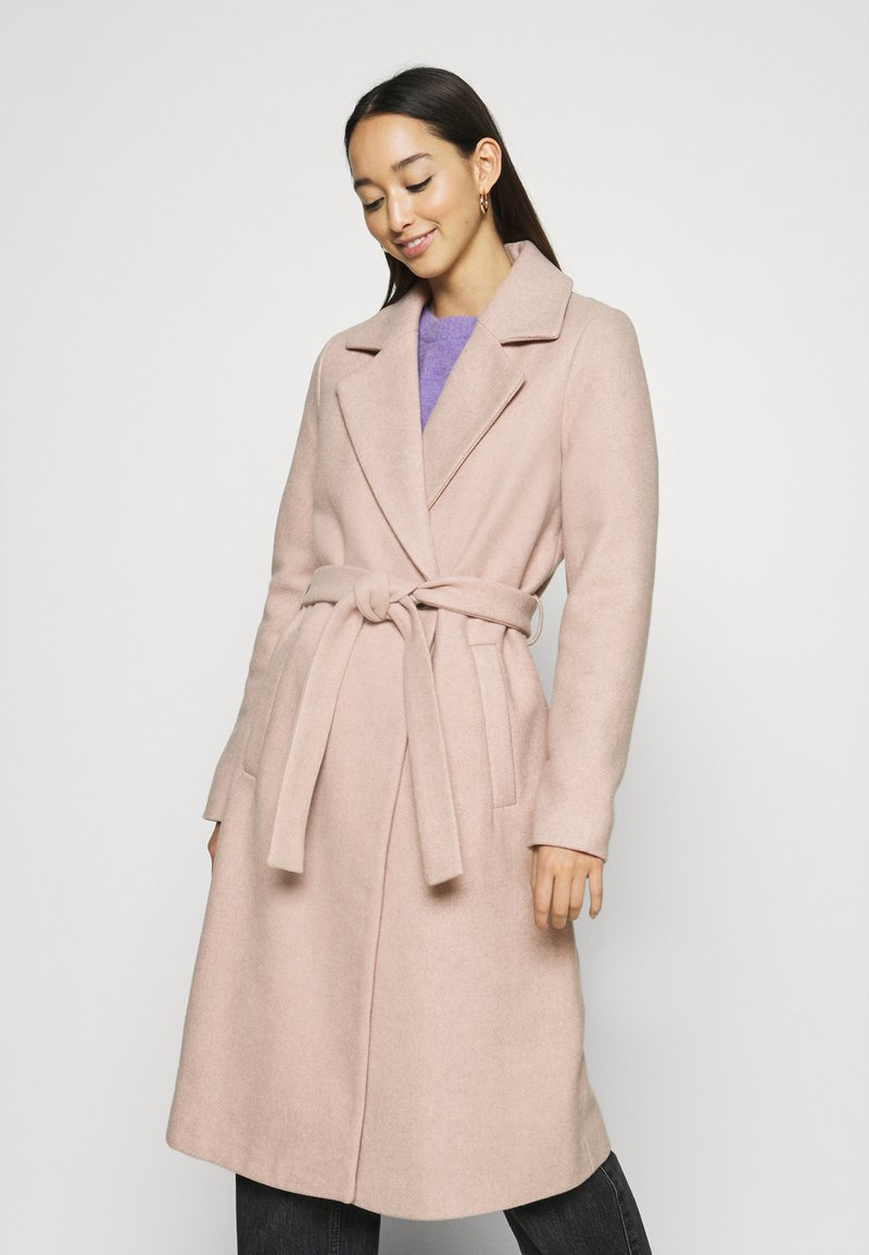 ONLY - ONLGINA WRAP COAT  - Classic coat - humus