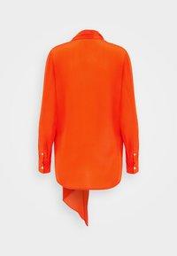 Victoria Beckham - SCARF NECK BLOUSE - Bluser - orange - 1