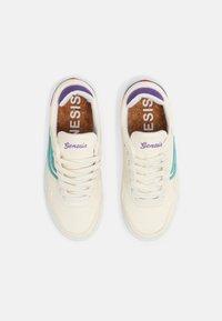 Genesis - SOLEY UNISEX  - Sneakers basse - white/inkblue/purple - 3
