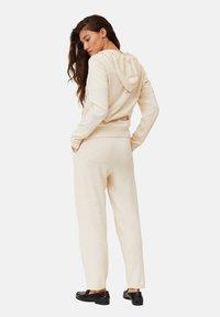 Lexington - JUNE - Zip-up sweatshirt - light beige melange - 2