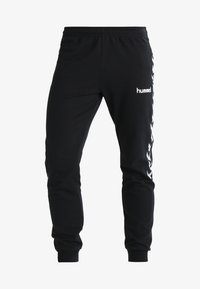 Hummel - AUTHENTIC CHARGE  - Tracksuit bottoms - black - 3