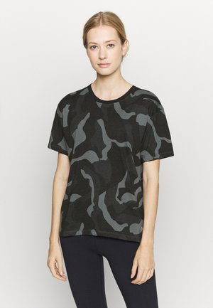 LIVE FASHION DENALI PRINT - Print T-shirt - black