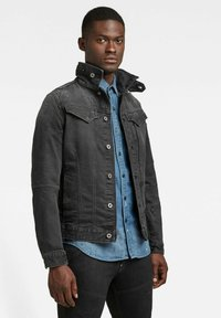 G-Star - CITISHIELD SLIM JACKET - Spijkerjas - faded charcoal wp - 3