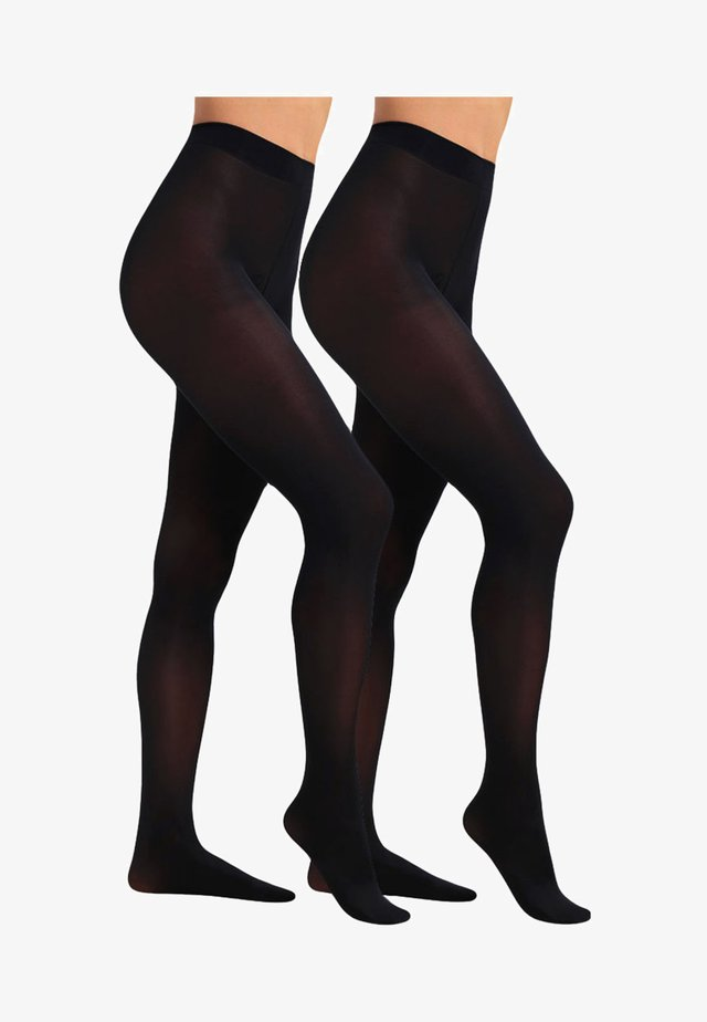 40 DEN SIMPLY 2 PACK - Tights - black