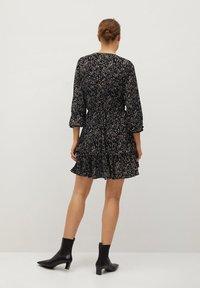 Mango - MOSS7 - Jersey dress - středně hnědá - 1