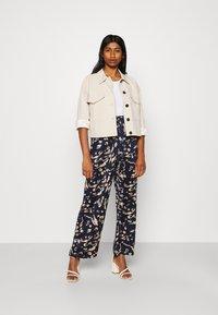 Vero Moda - VMHAILEY PANT - Trousers - navy blazer - 1