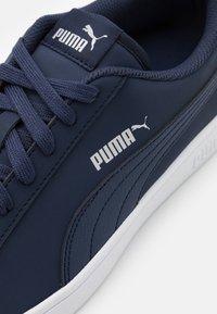 Puma - SMASH  - Trainers - peacoat-white-whisper white - 5