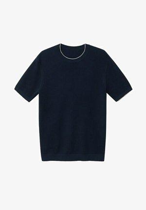 ROSS - Basic T-shirt - indigo blue