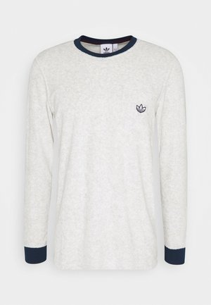 SAMSTAG TERRY - Long sleeved top - white