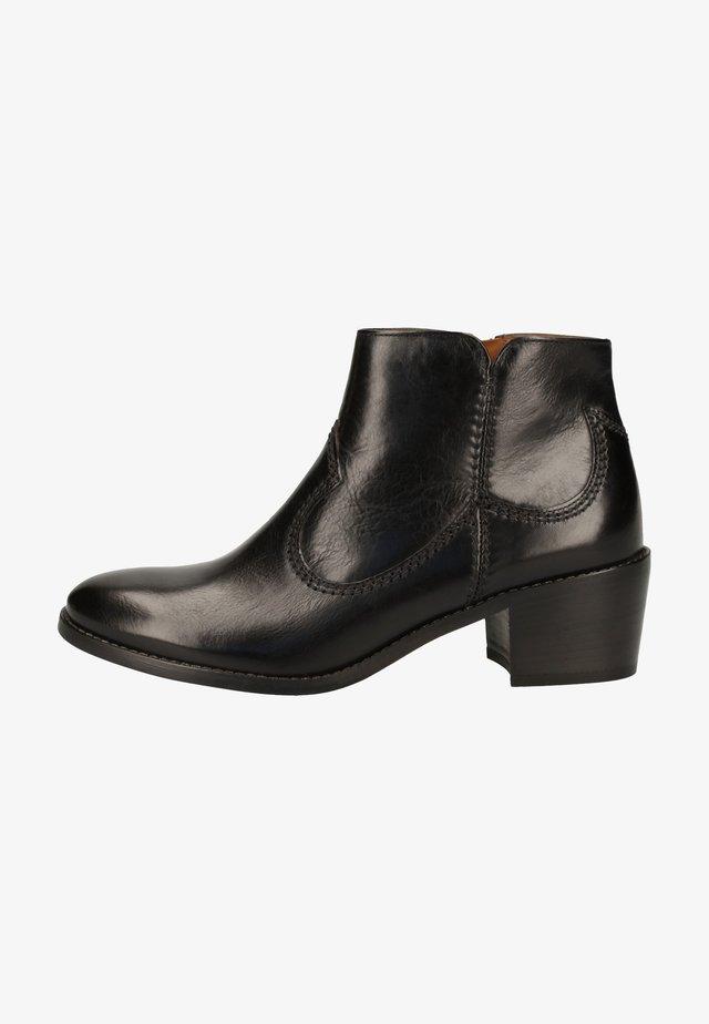 Korte laarzen - schwarz 047