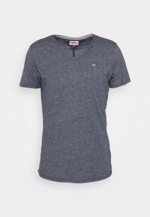 SLIM JASPE V NECK - T-shirt basique - twilight navy