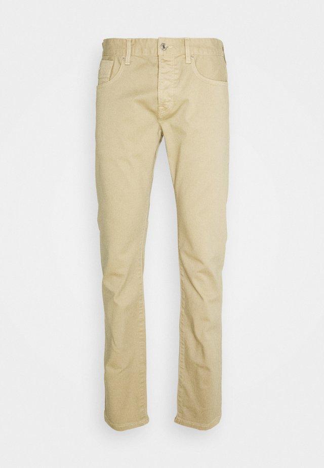 Straight leg jeans - mushroom