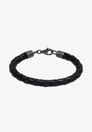 LEDER ARMBAND  - Bracelet - schwarz