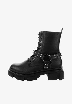 ARSIZIO - Cowboy/biker ankle boot - black
