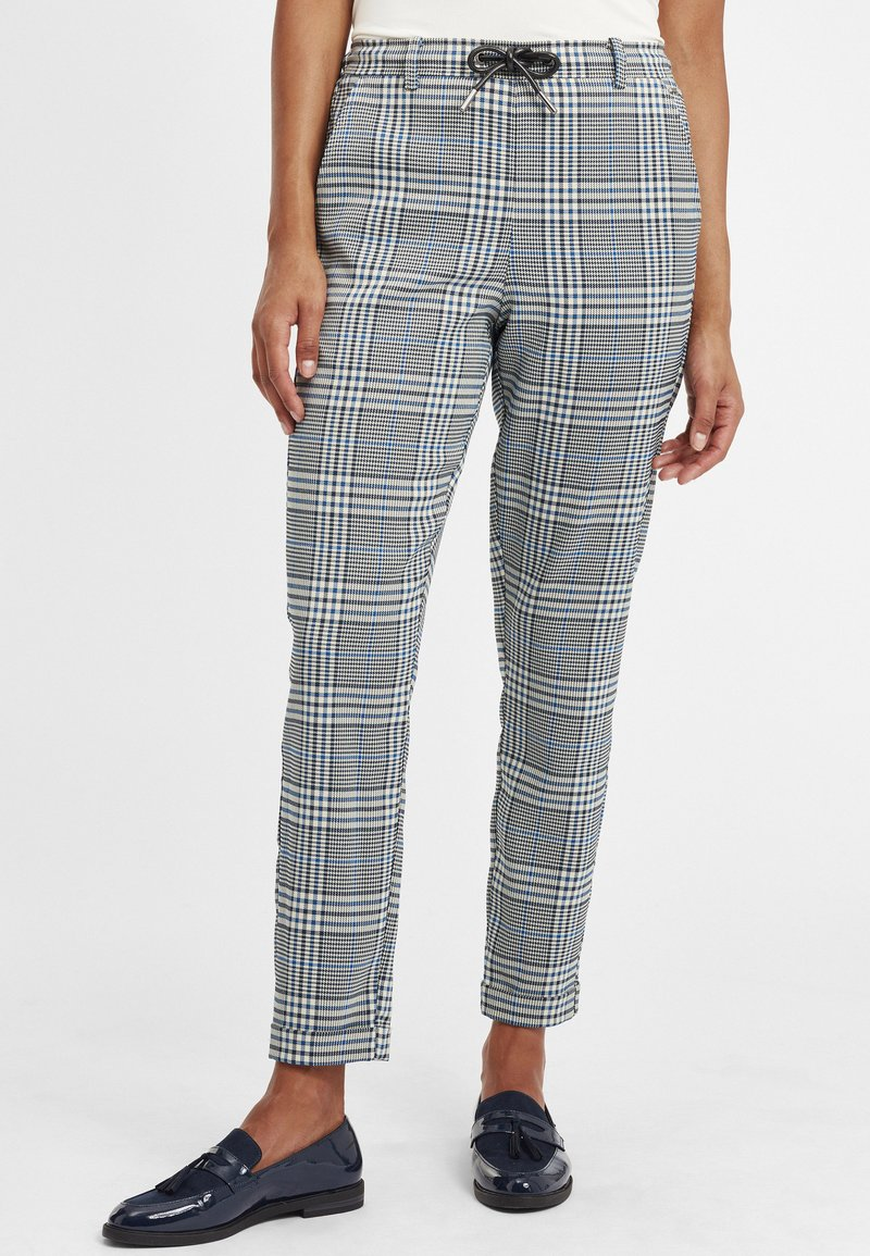 Oxmo - Trousers - insignia blue