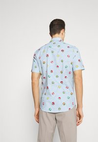 OppoSuits - SHORT SLEEVE SUPER MARIO ICONS - Shirt - blue - 2