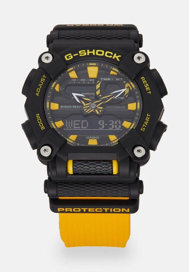 NEW HEAVY DUTY STREET - Chronograph watch - black