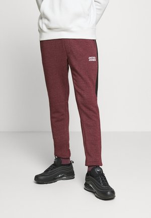 JJIWILL JJPOUL  - Tracksuit bottoms - port royale melange