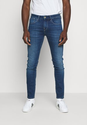 HATCH - Jeansy Slim Fit - blue denim
